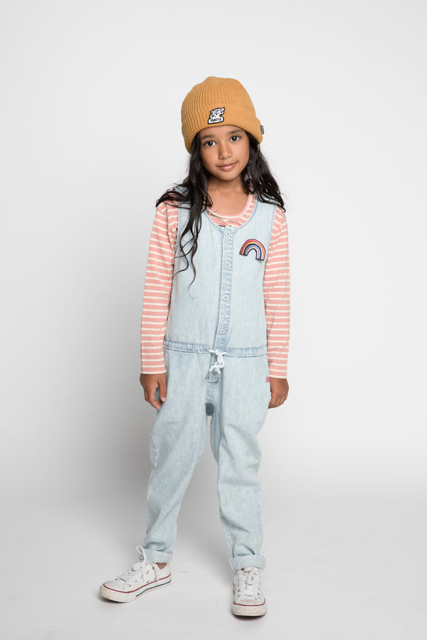 Munster Kids / Missie Kids - Jean Denim Jumpsuit - Seedling & Co.