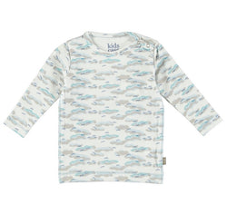 Kidscase - Philly Organic T-Shirt - Light Blue Print