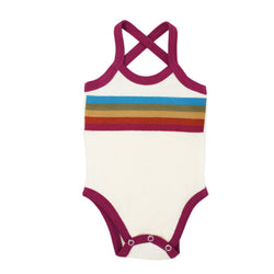 L'ovedbaby | Terry Cloth Bodysuit - Magenta