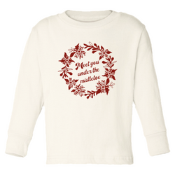 Tenth & Pine || Meet You Under The Mistletoe || Organic Long Sleeve Tee