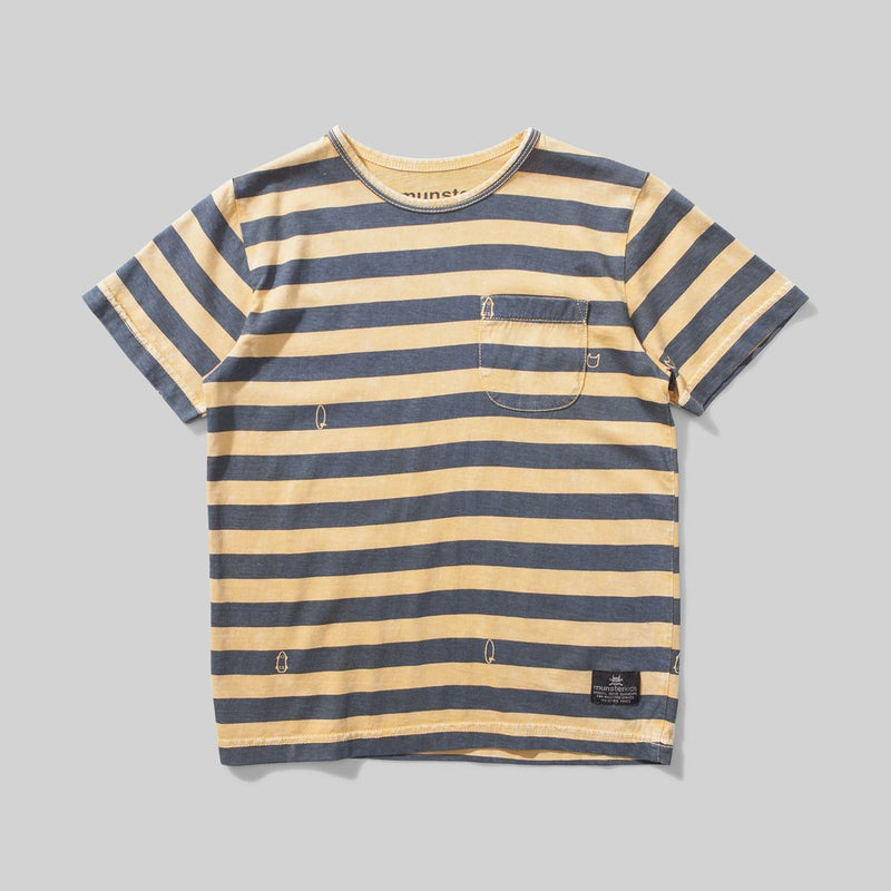 Munster Kids - Washed Up Mustard Tee