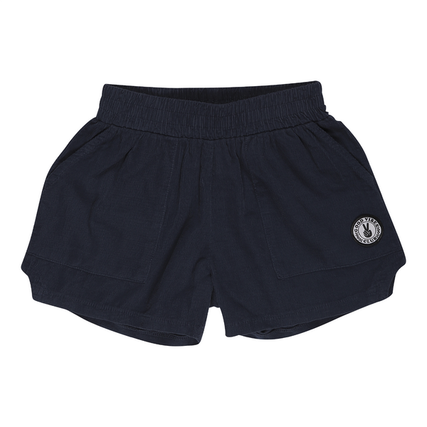 Tiny Whales - Corduroy Dad Shorts - Navy
