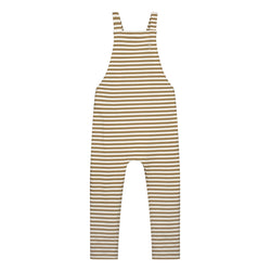 Gray Label | Overalls - Peanut/Off-White Stripe