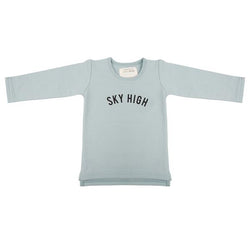 Little Indians - Baby Long Sleeve Sky High Arona
