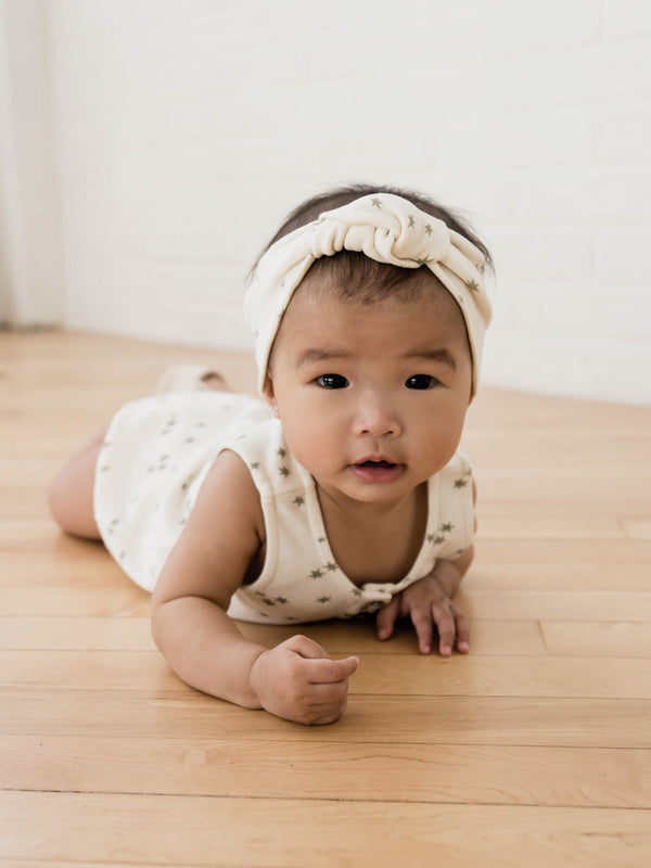 Quincy Mae | Baby Turban | Ivory