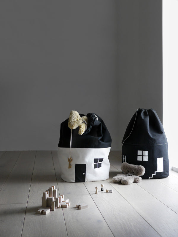 Rock and Pebble | No. 1 House Large Organic Storage Bag