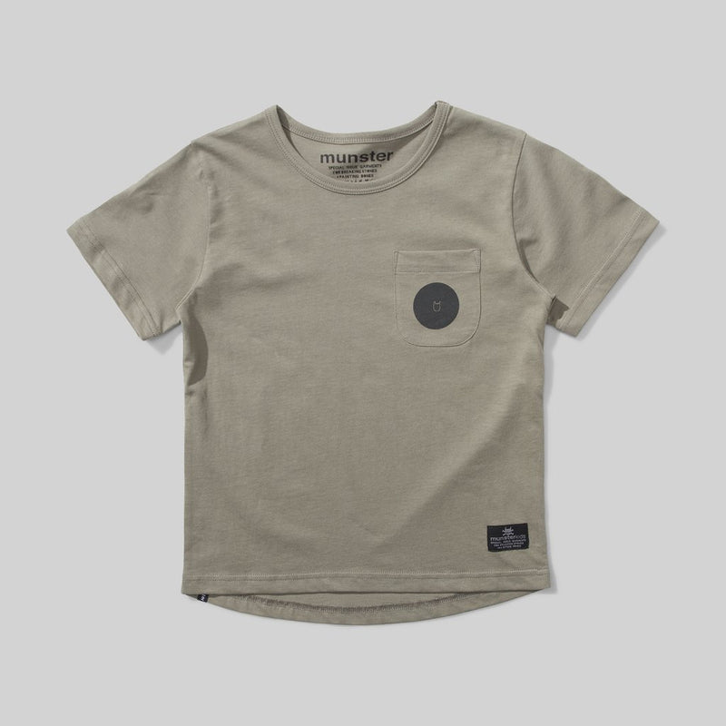 Munster Kids - Spot On Sage Tee