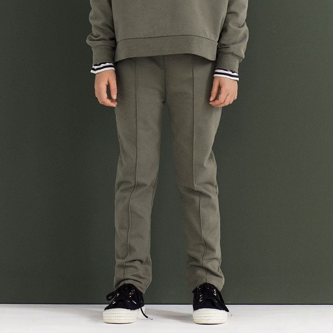 Gray Label | Slim Fit Trousers - Moss