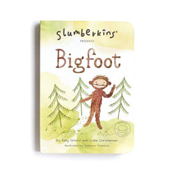 Slumberkins | Bigfoot Board Book - Self Esteem