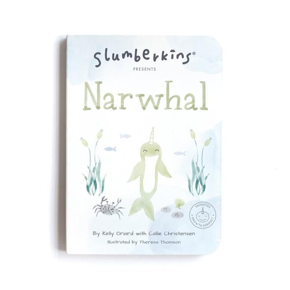 Slumberkins | Narwhal Board Book - Growth Mindset