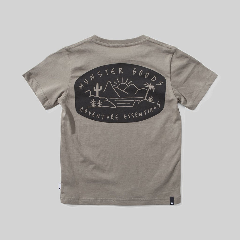 Munster Kids - The Goods Olive Tee