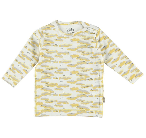 Kidscase - Philly Organic T-Shirt - yellow print