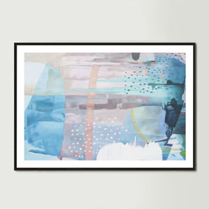 Influences Art Print