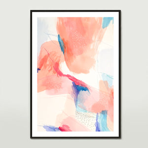 Terracotta Water Colour 1 Art Print
