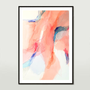 Terracotta Water Colour 2 Art Print
