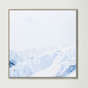 Hakuba (Square) Canvas Print