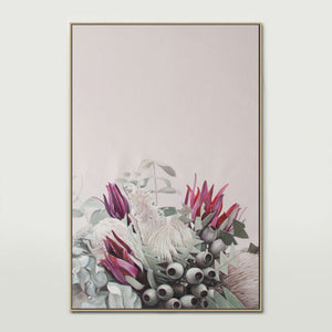 Pink Native Bouquet Canvas Print