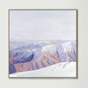 South Island (Square) Canvas Print