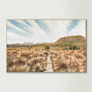 Overland Track Canvas Print