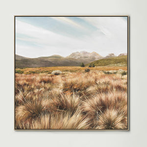 Overland Track (Square) Canvas Print