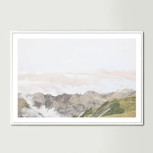 Clouds in the Valley Art Print
