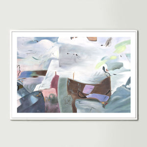 Clouds over the Cliffs Art Print