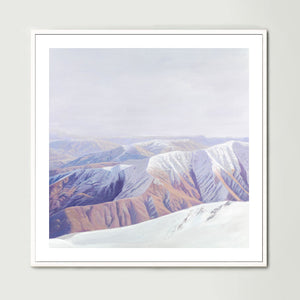 South Island (Square) Art Print