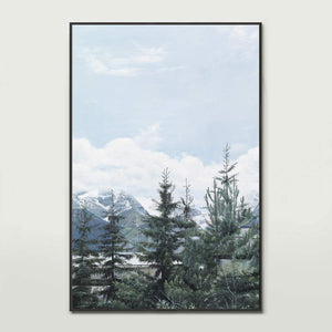 French Pines Canvas Print