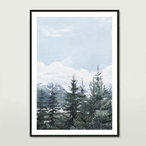 French Pines Art Print