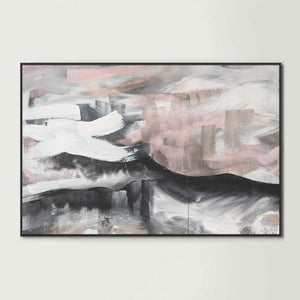 Blushing Sky Canvas Print