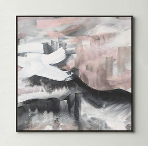 Blushing Sky (Square) Canvas Print