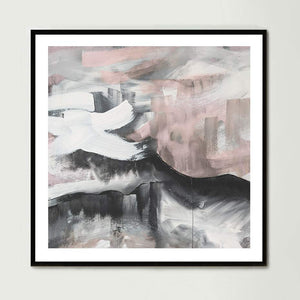 Blushing Sky (Square) Art Print
