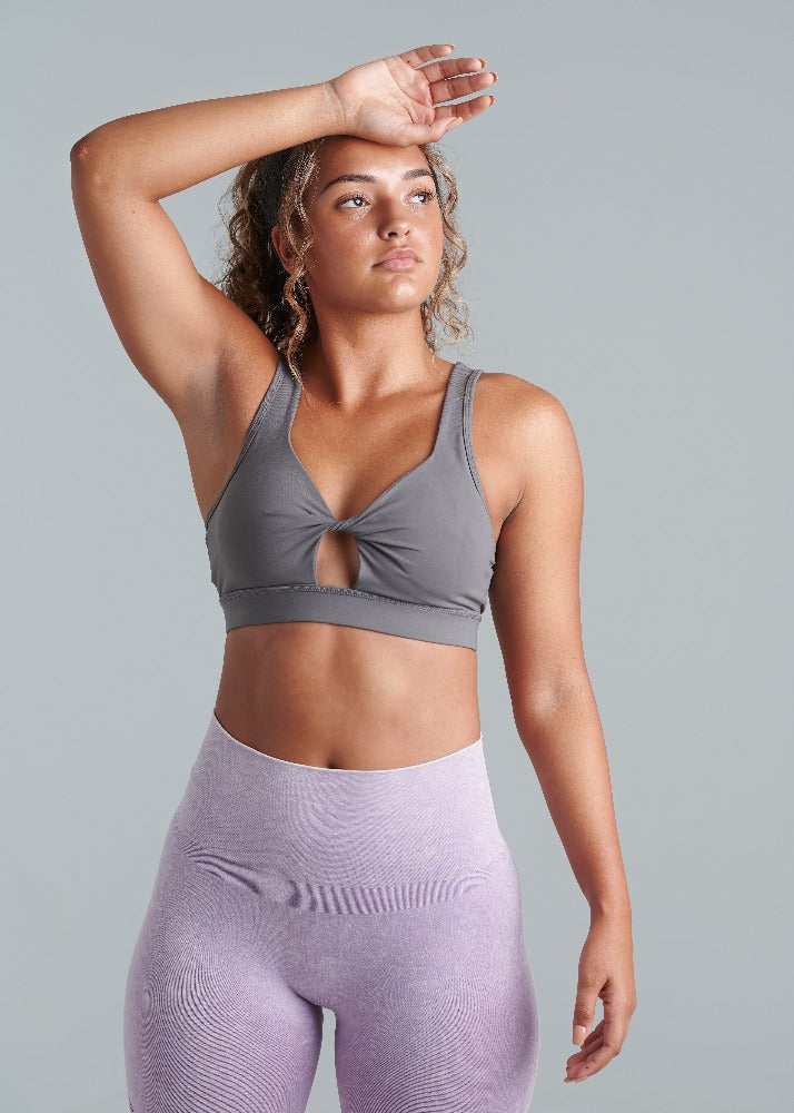 Twisted Front Sports Bra