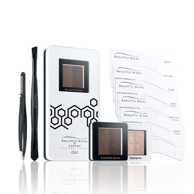 Beautiful Brows DUO Eyebrow Kit - Beautiful Brows and Lashes Professional