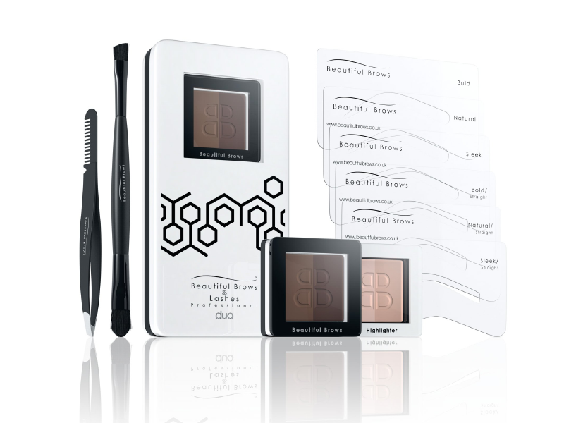 Wholesale Beautiful Brows Duo Eyebrow Kit (Min. 5) - Beautiful Brows and Lashes Professional