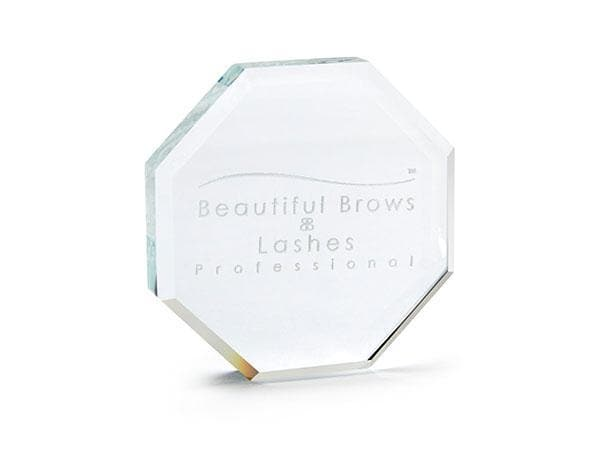 Crystal Octagonal Plate - Beautiful Brows and Lashes Professional