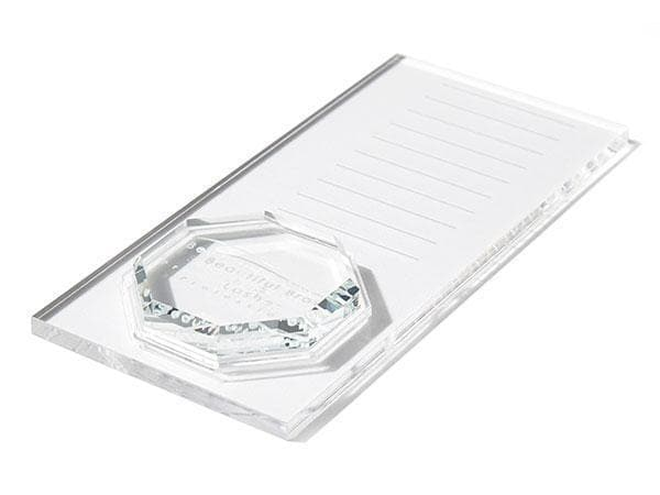 Lash Plate with Octagonal Crystal Platform - Beautiful Brows and Lashes Professional