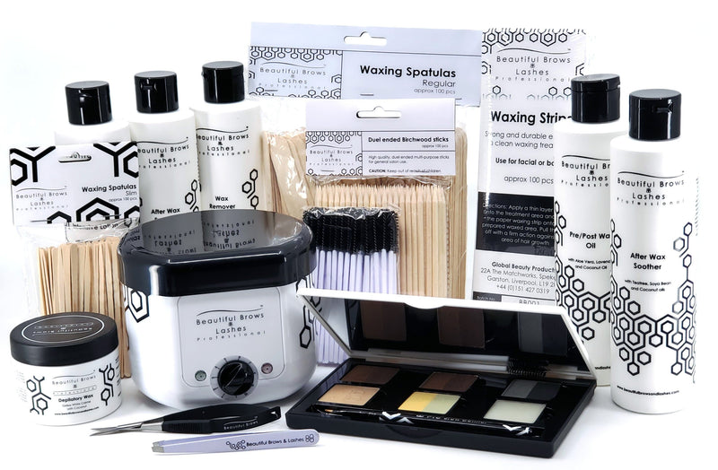Plus Wax Pack - Beautiful Brows and Lashes Professional
