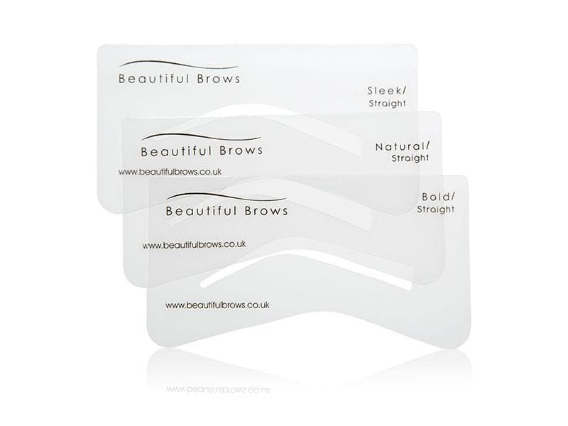 PRO Beautiful Brows Eyebrow Stencil Set of 6 (Min. 5)