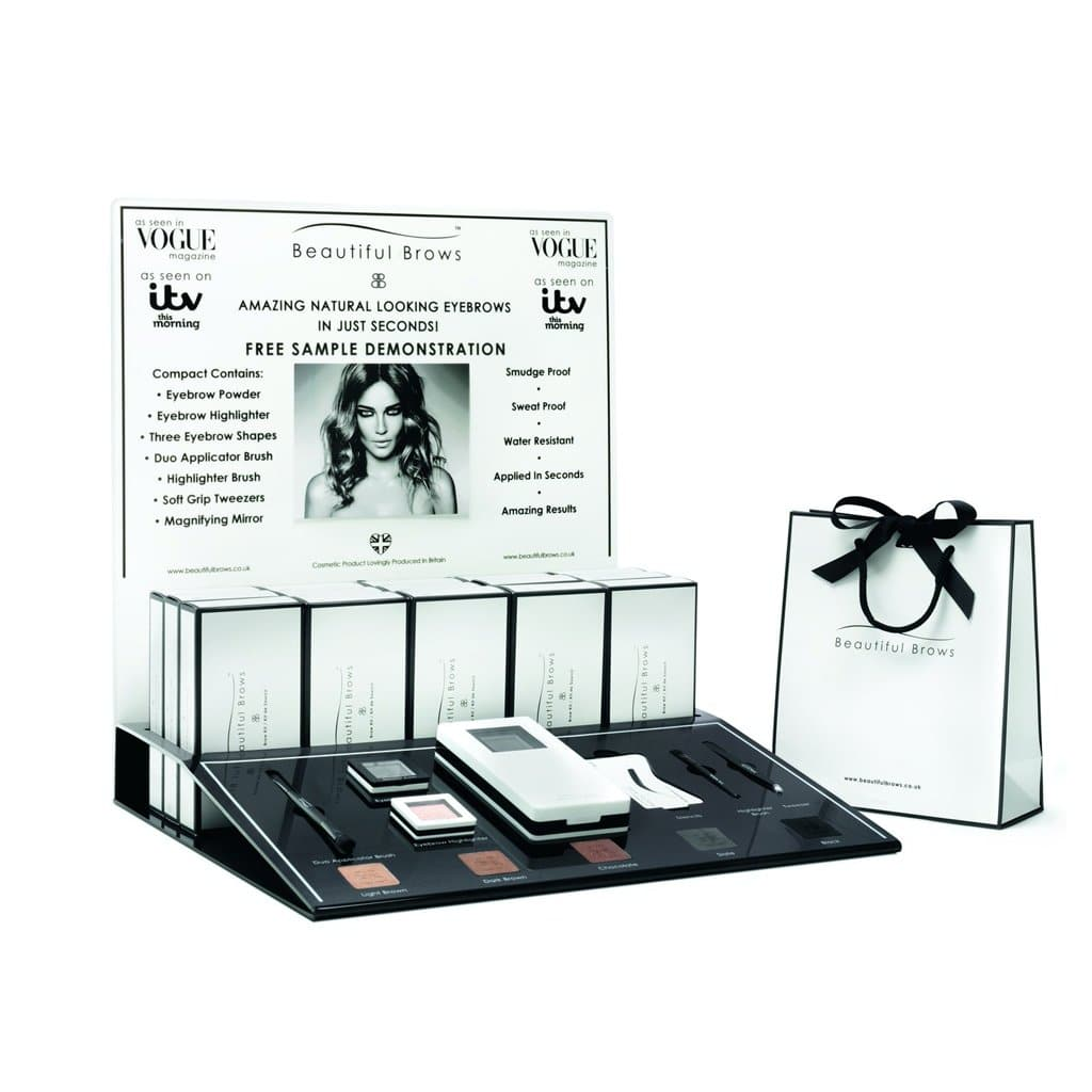 Beautiful Brows Duo Wholesale Display (Compacts included) - Beautiful Brows and Lashes Professional