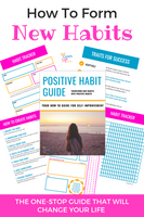 Printable Habit Tracker - Positive Habit Guide