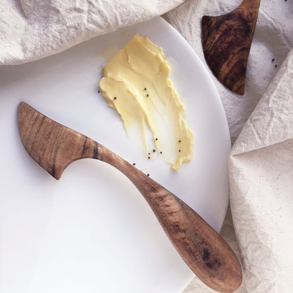 Wooden Swedish Butter Knife