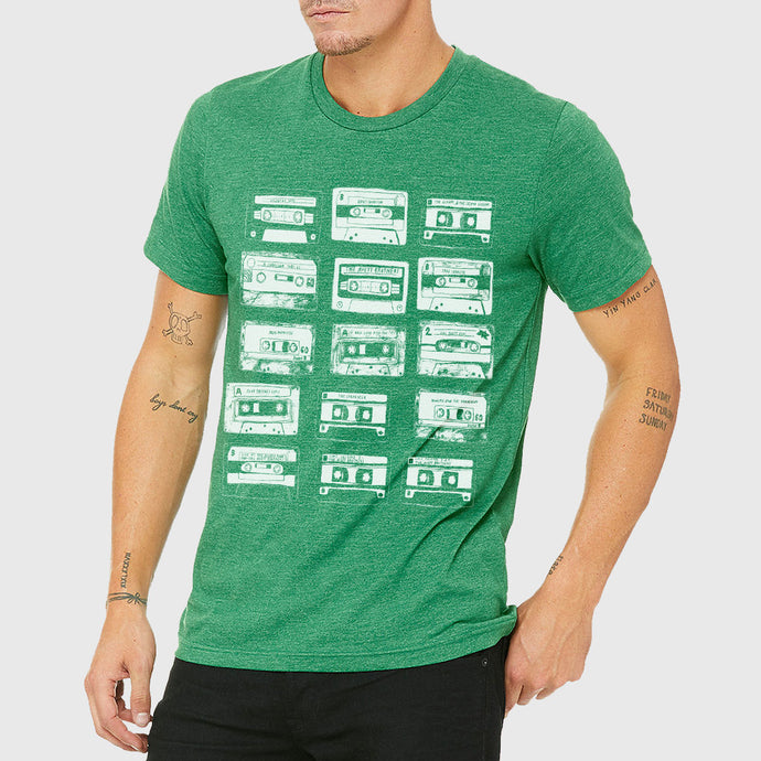 Cassettes [GREEN] T-shirt