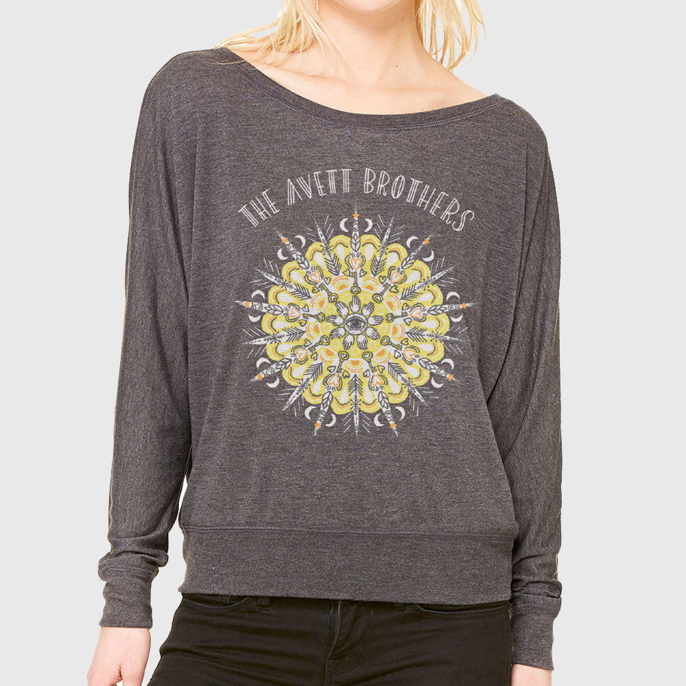 Ladies Mandala L/S T-shirt