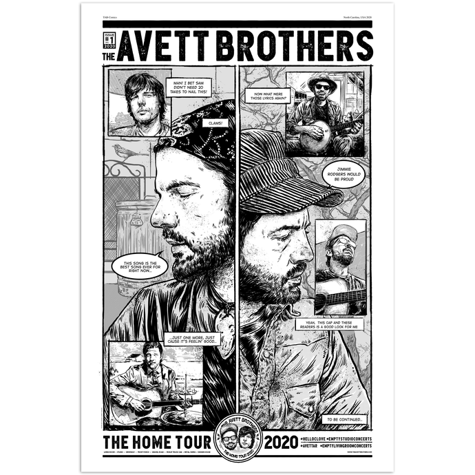 [PREORDER] Home Tour 2020 Comic Poster