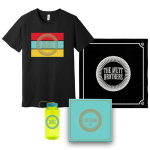 [PREORDER] The Gleam III + Tee + Bottle + Black Bandana Bundle