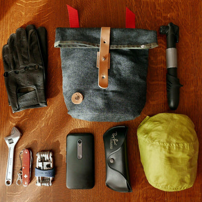Big tex handlebar bag - La Jefa and sons