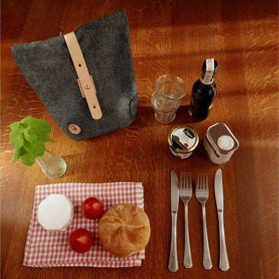 La Jefa and Sons Big Tex Handlebar Bag in Denim
