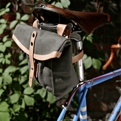 J-23 in feldgrau saddle bag - La Jefa and sons