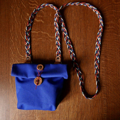 Privat in royal blue saddle bag - La Jefa and sons